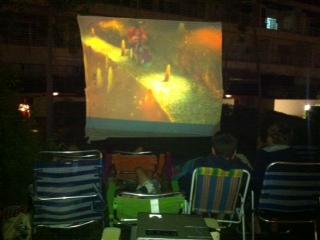 cine de verano en isla cristina